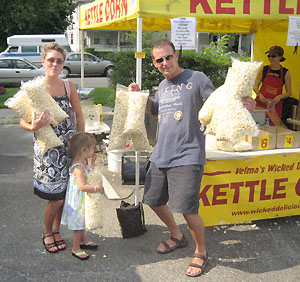 Kettle corn addicts
