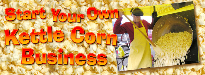Kettle corn busines header